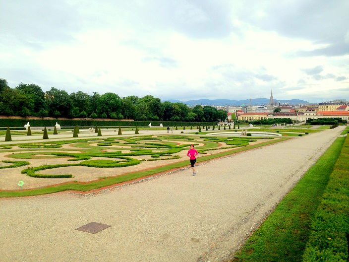 Grădinile Castelului Belvedere Viena Blog Calator