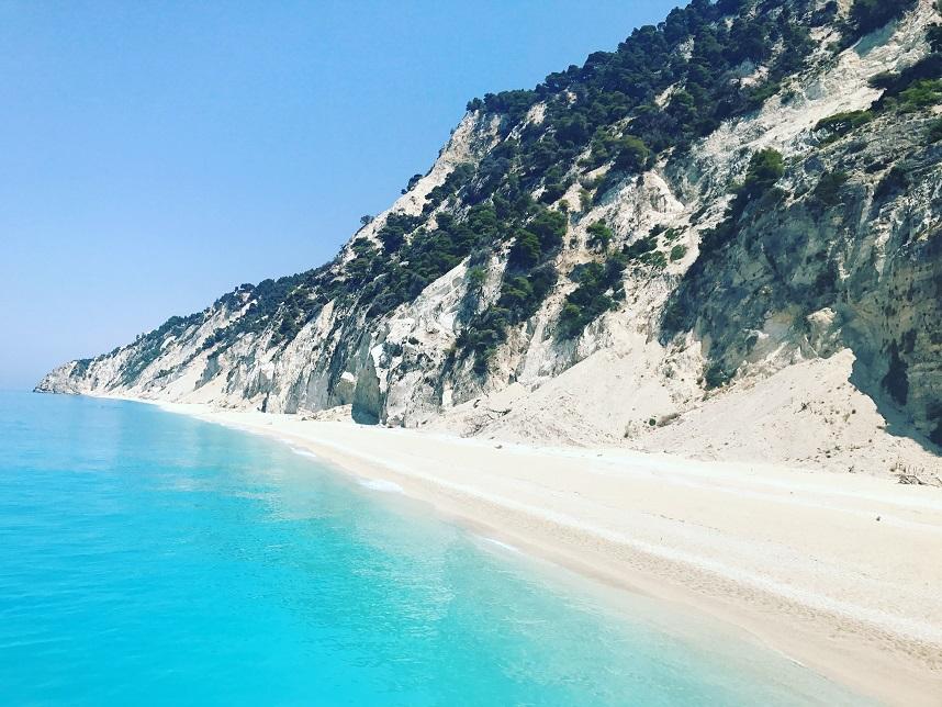 7 zile în lefkada plaja egremni by blog calator