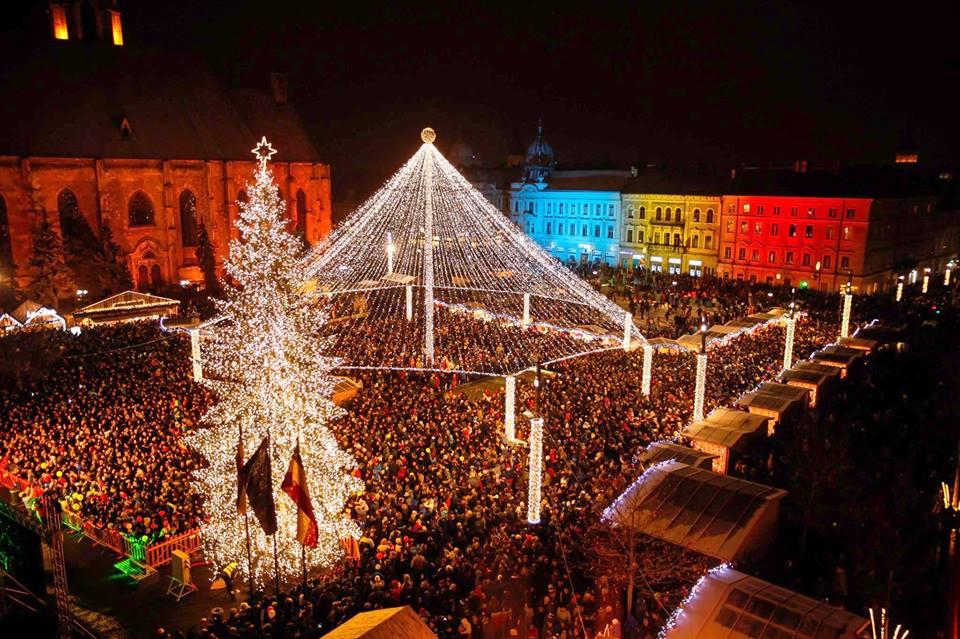 Targ de Craciun din Cluj Blog Calator