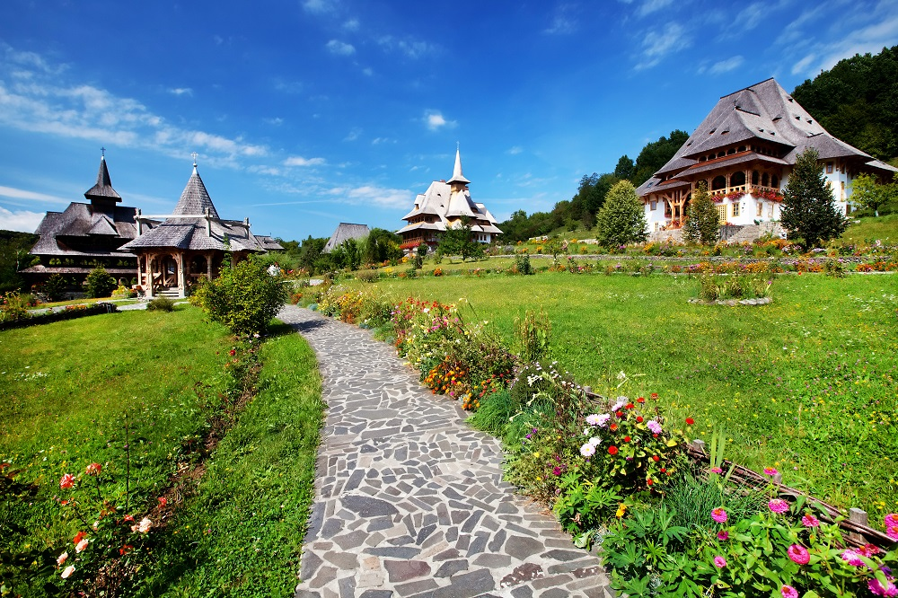 Manastirea Barsana Maramures