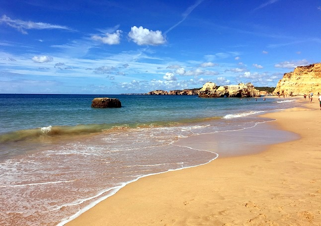Plaje Algarve Portugalia