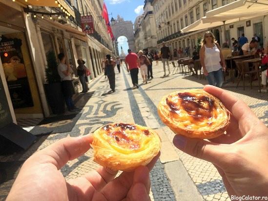 Pastel del nata in Lisabona, Portugalia