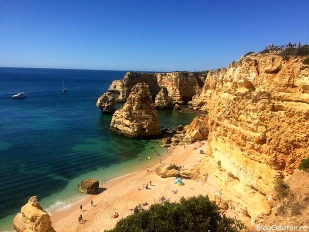 Praia da Marinha, Algarve Portugalia