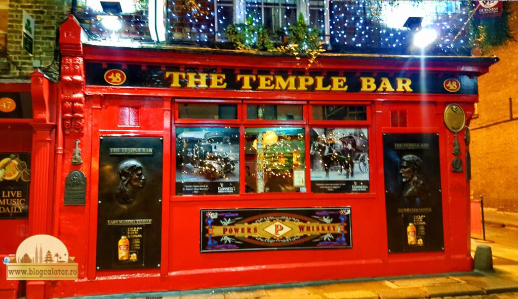 the temple bar noapte dublin blog calator