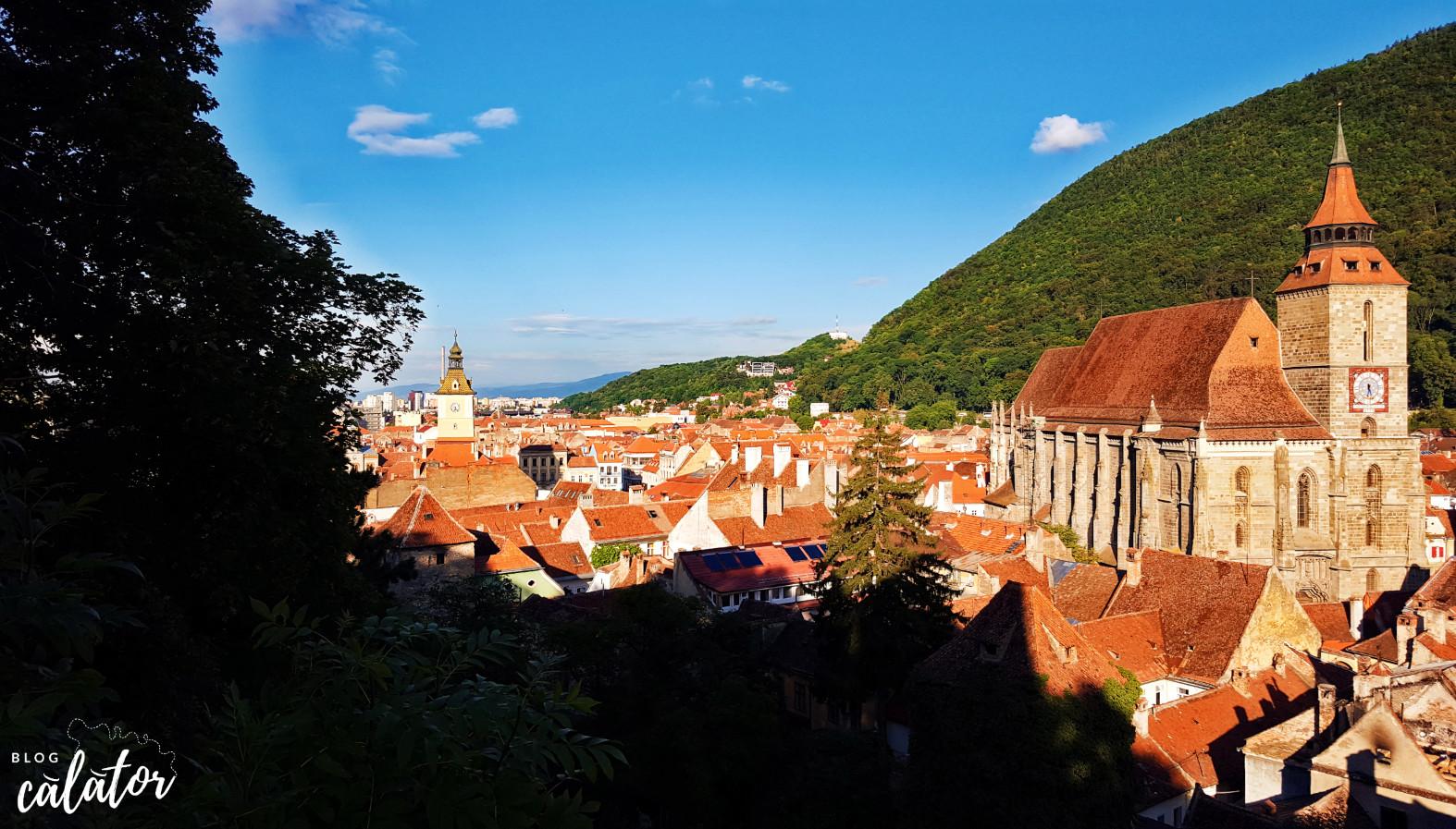 vedere panoramica biserica neagra muntele tampa 7 lucruri de făcut în brașov blog calator