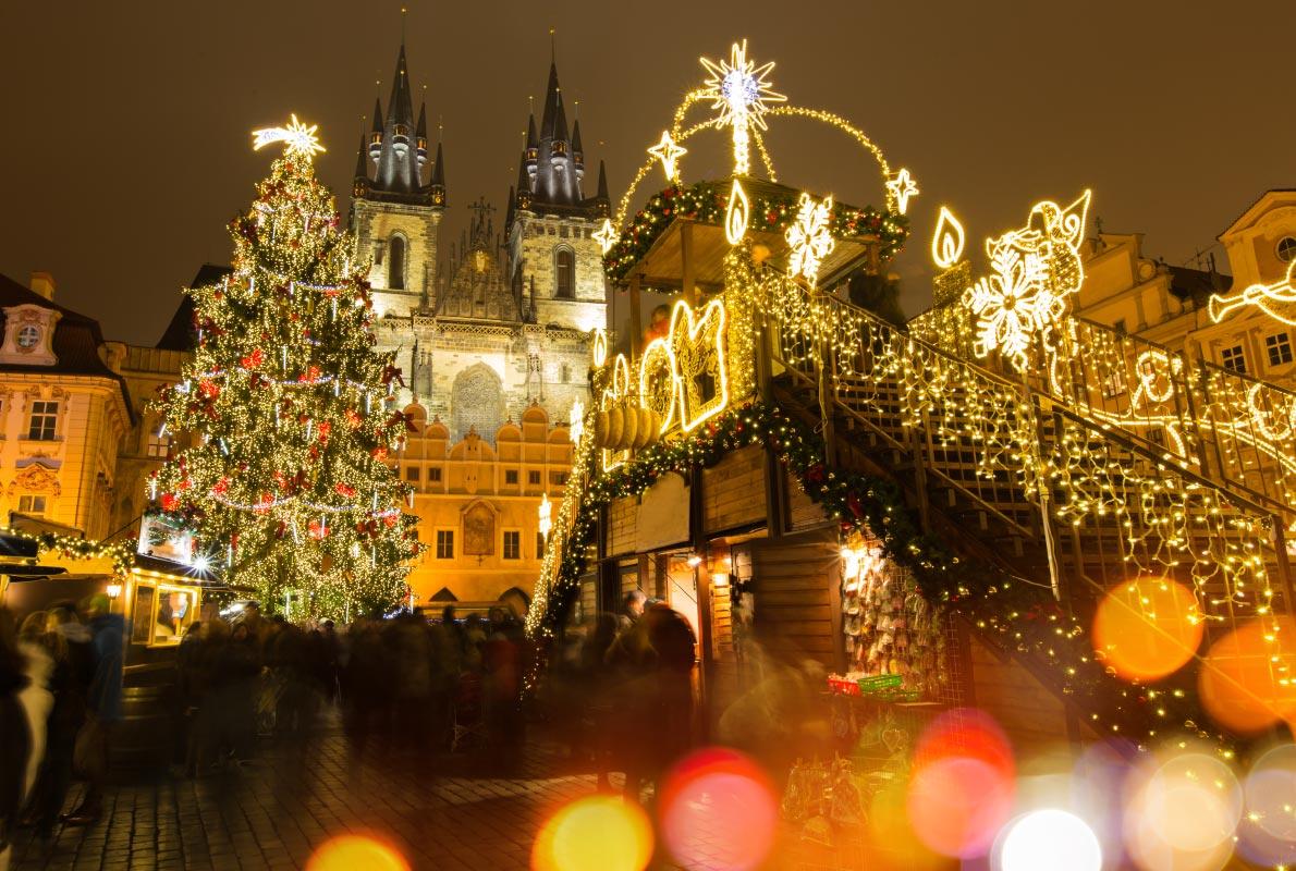 Targul de Craciun din Praga Blog Calator