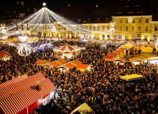 Targul de Craciun din Sibiu Blog Calator