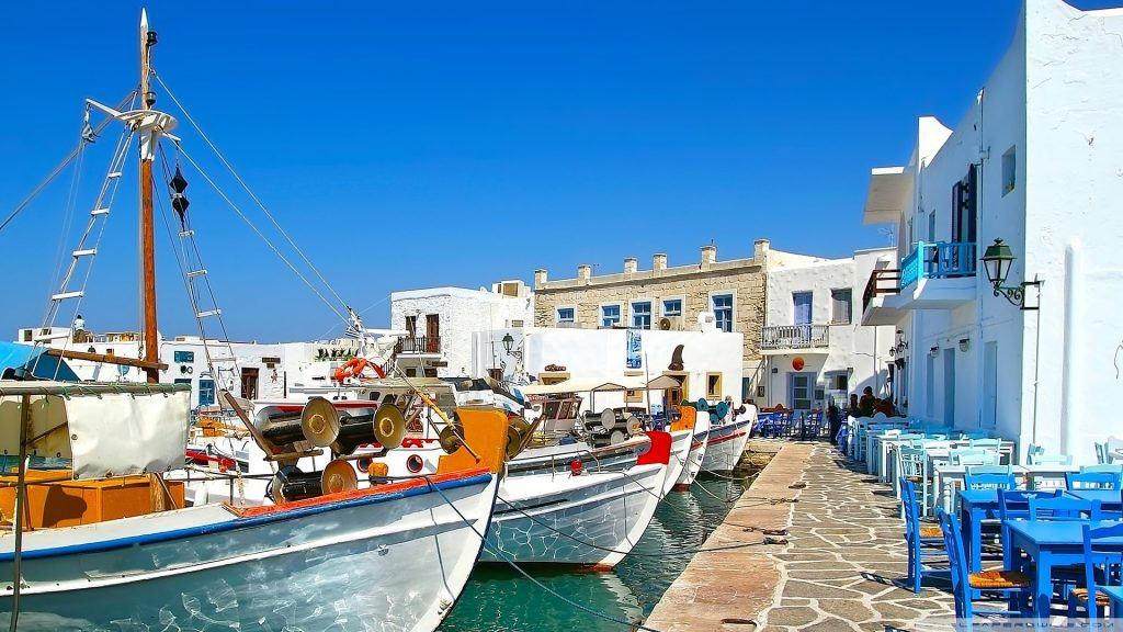 Insula Paros Grecia Blog Calator