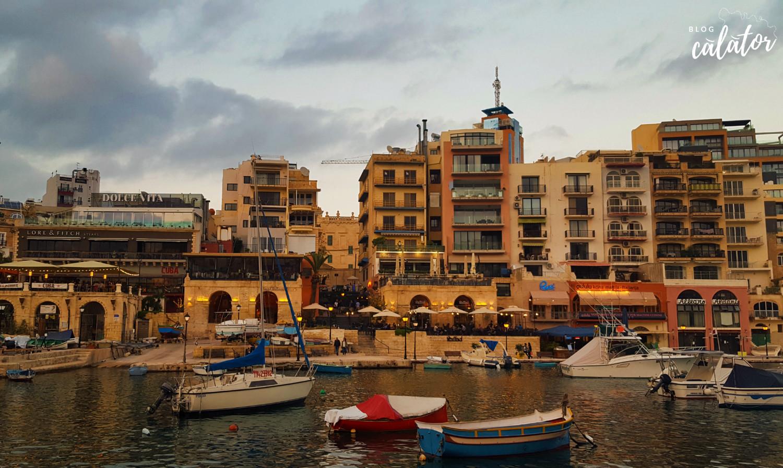 malta destinație de vacanță blog calator st julians