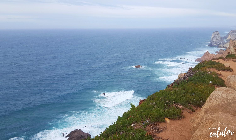 cabo da roca peisaj ocean lisabona cu bani puțini