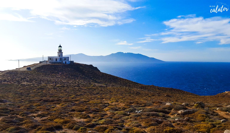 nordul insulei farul Armenistis sejur mykonos