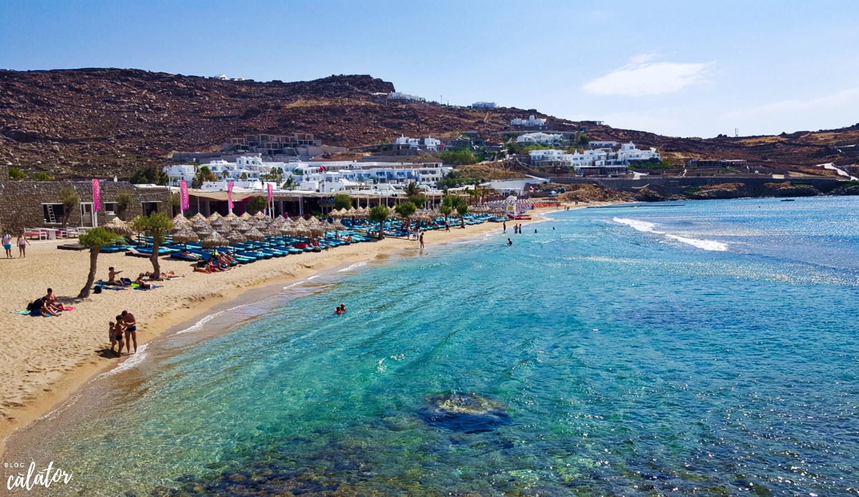 paradise beach mykonos sejur paradis