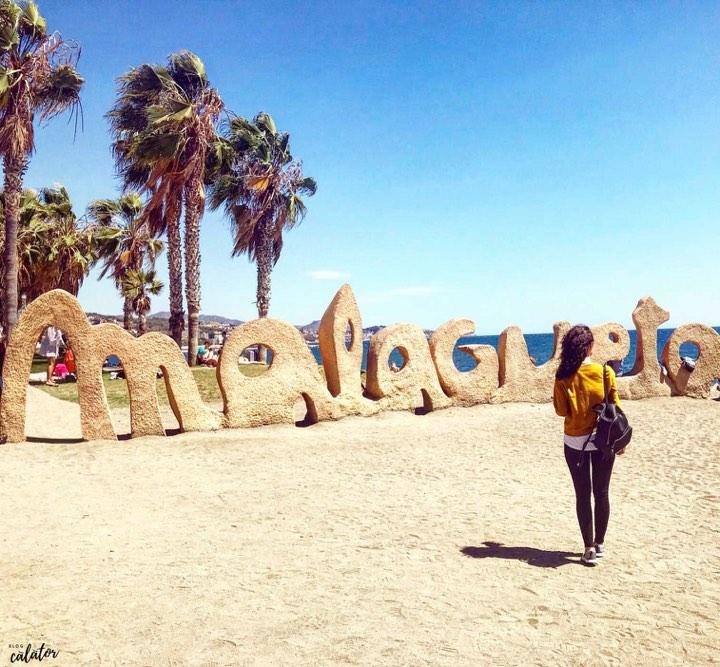 Plaja Malagueta, Spania, Costa del Sol Blog Calator